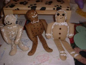 Free Gingerbread Doll Pattern