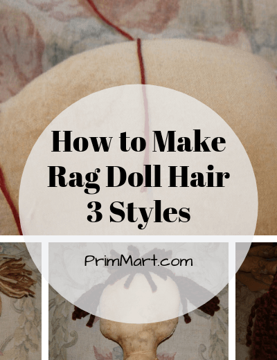 How to Make Rag Doll Hair – 3 Yarn Hair Styles