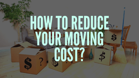 reduce your moving costs