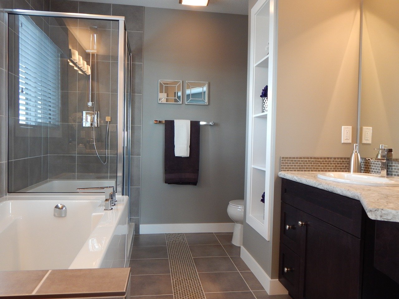 Wear and tear can make the property less valuable. So when you decide it's time to update your bathroom, your property gains value and usability.