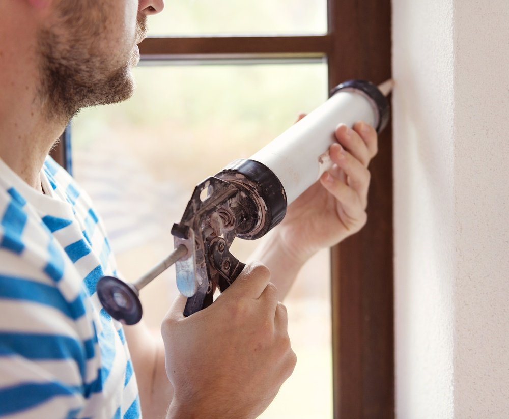 Winter your home with caulking