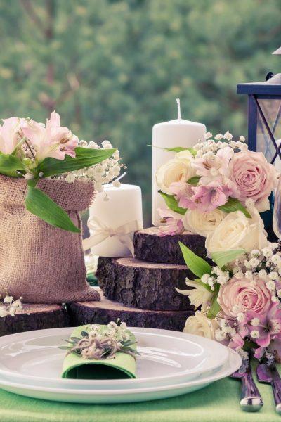 Handmade Decorations For Your Wedding Venue