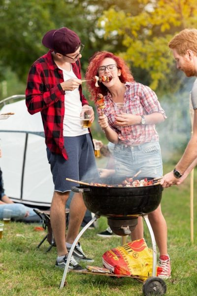 Cooking Over a Camp Grill – What Could Be Tastier?