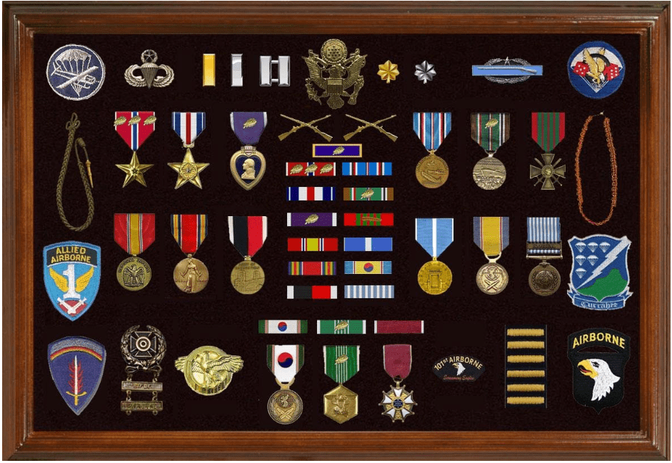 The Best Ideas for Military Shadow Box Frames
