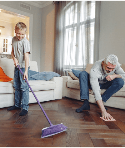 3 Easy Cleaning Tips For Busy People