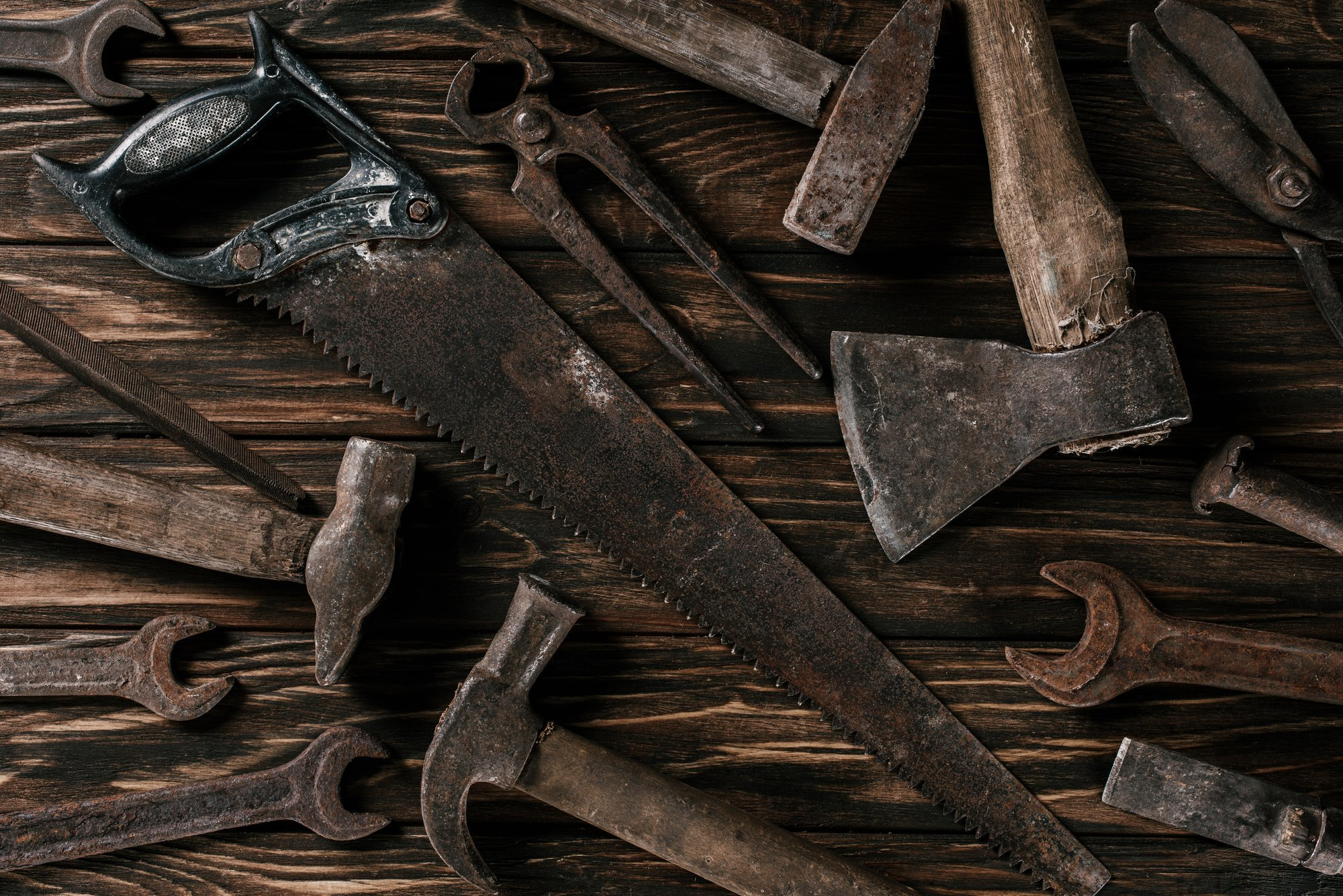 How to Clean Rusty Hand Tools