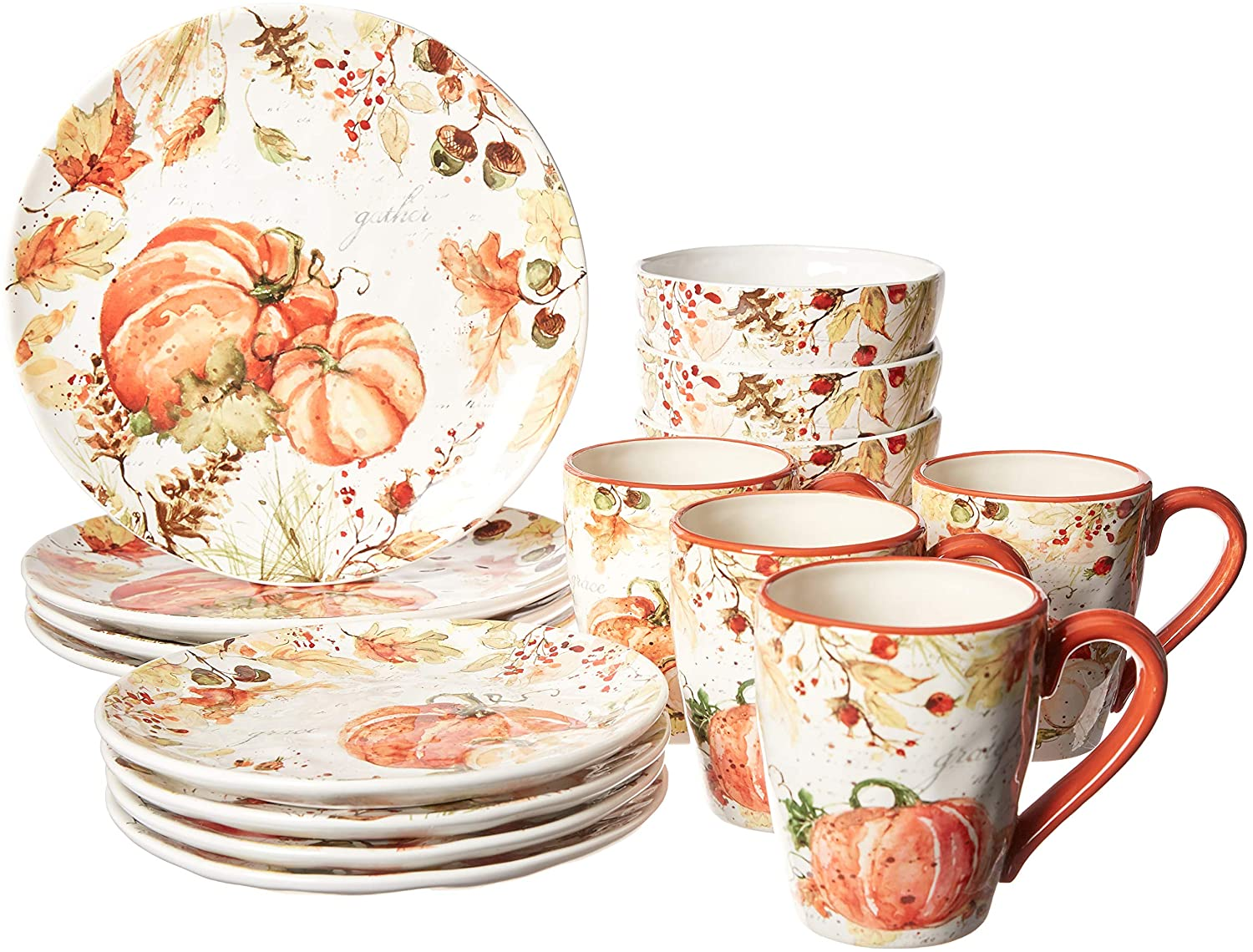 Harvest Splash Dinnerware