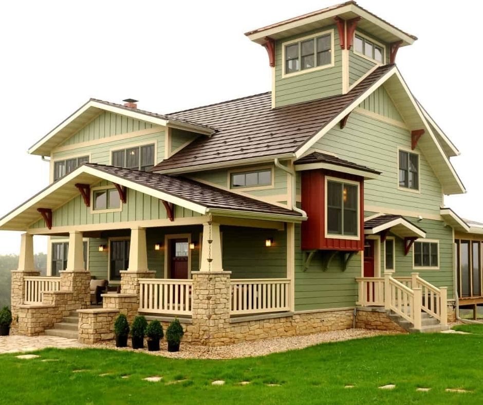 Inspiring Sage Green House Design of 2021