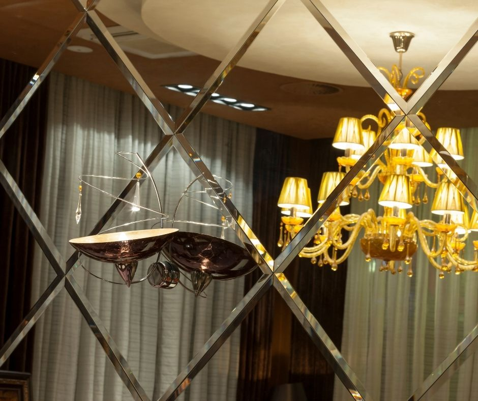 Embellish your indoors with mirror wall tiles!