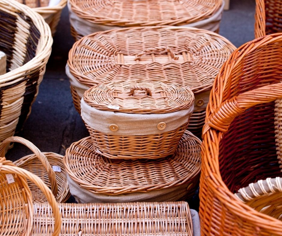 Understand What Wicker Baskets Are Used For