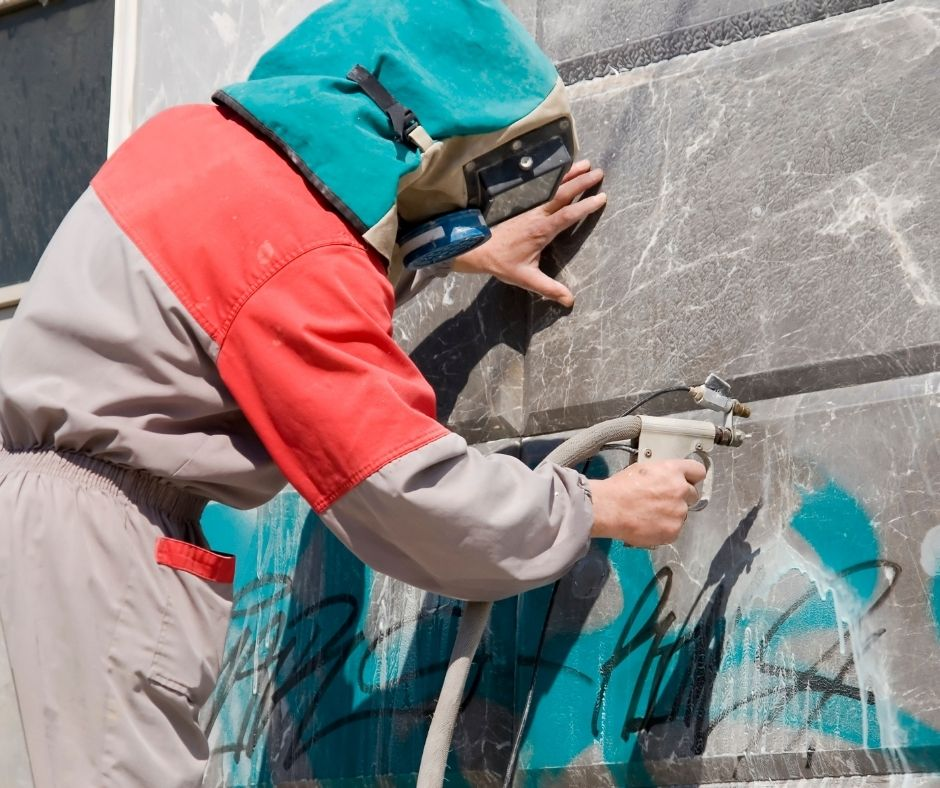 How do I Remove Graffiti on my Brick Wall?