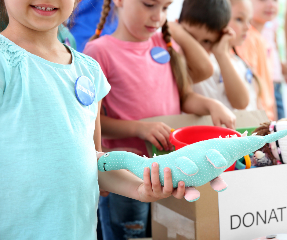 Donating to Charity How it can motivate your child to be a better person