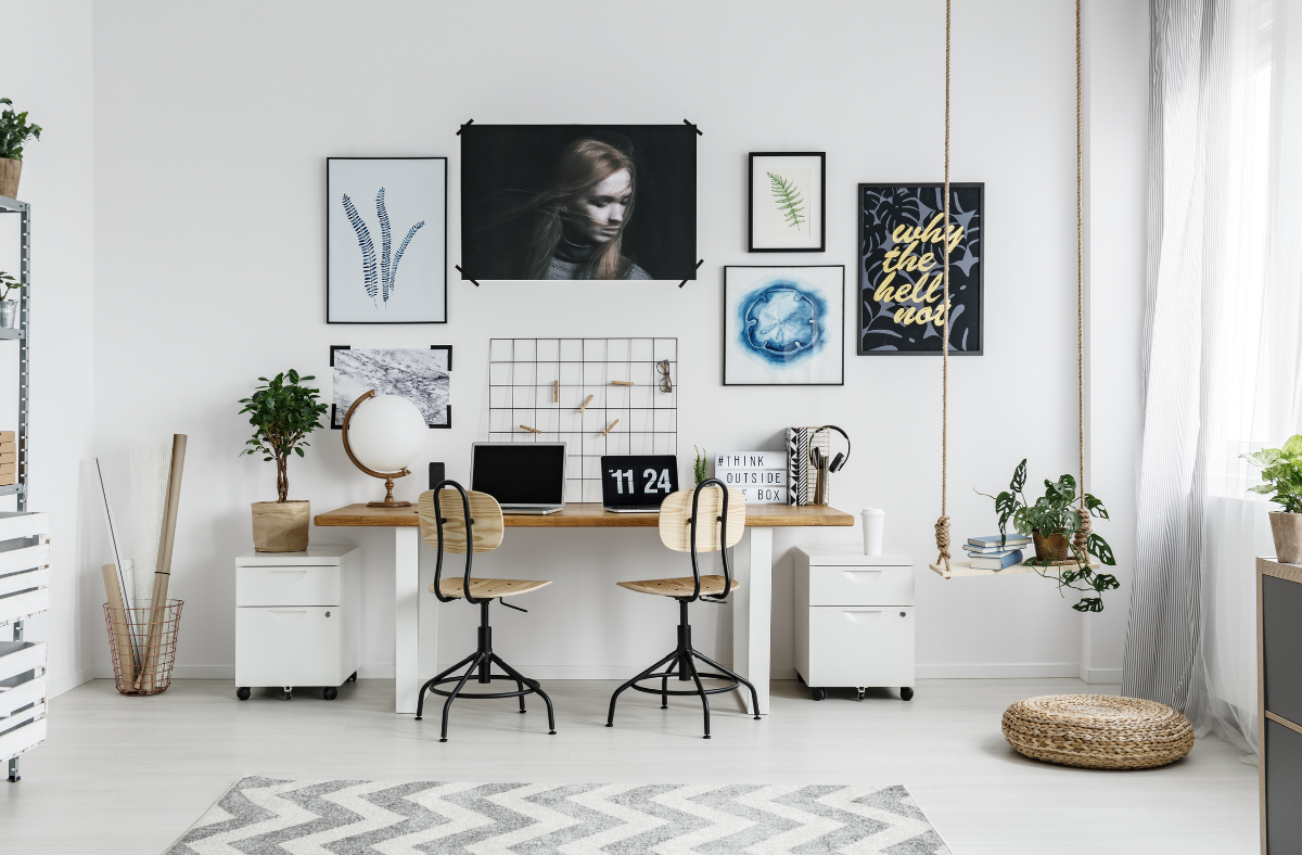 10 Home Office Ideas For Small Spaces