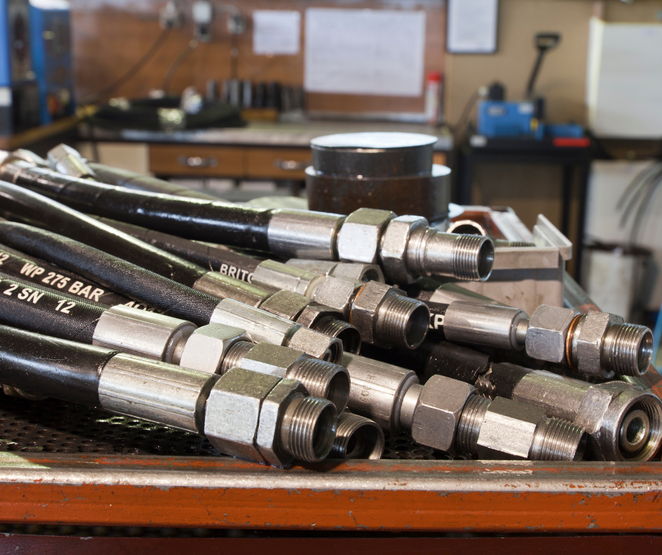 6 Applications of Hydraulic Hoses
