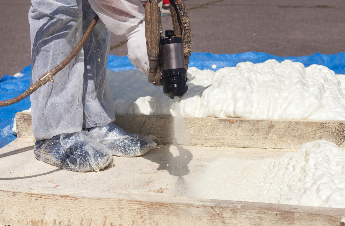 Use of Spray Foam Insulation During New Construction